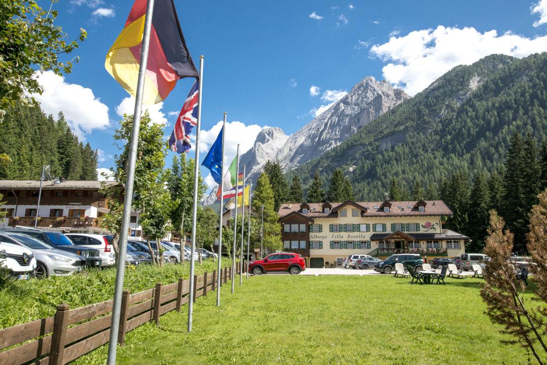 Außenansicht Hotel Villa Rosella Park & Wellness