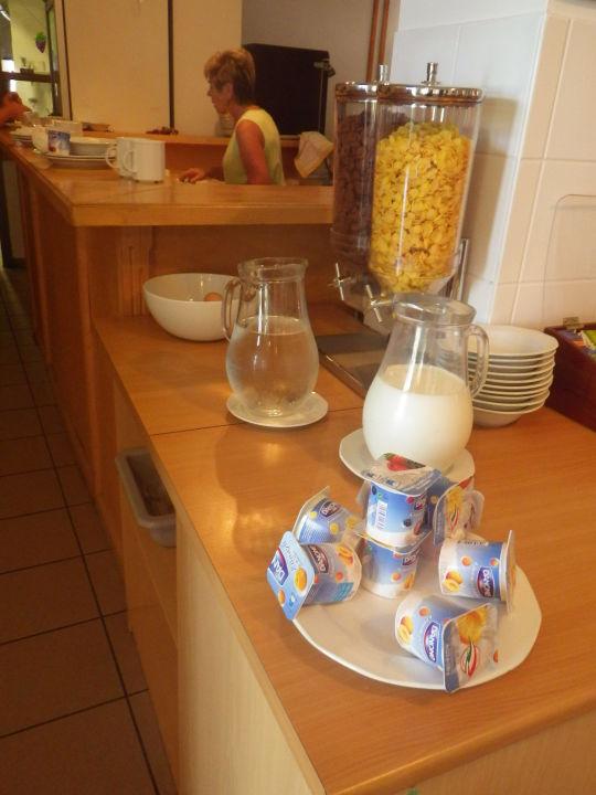 Frühstück Hotel Holiday