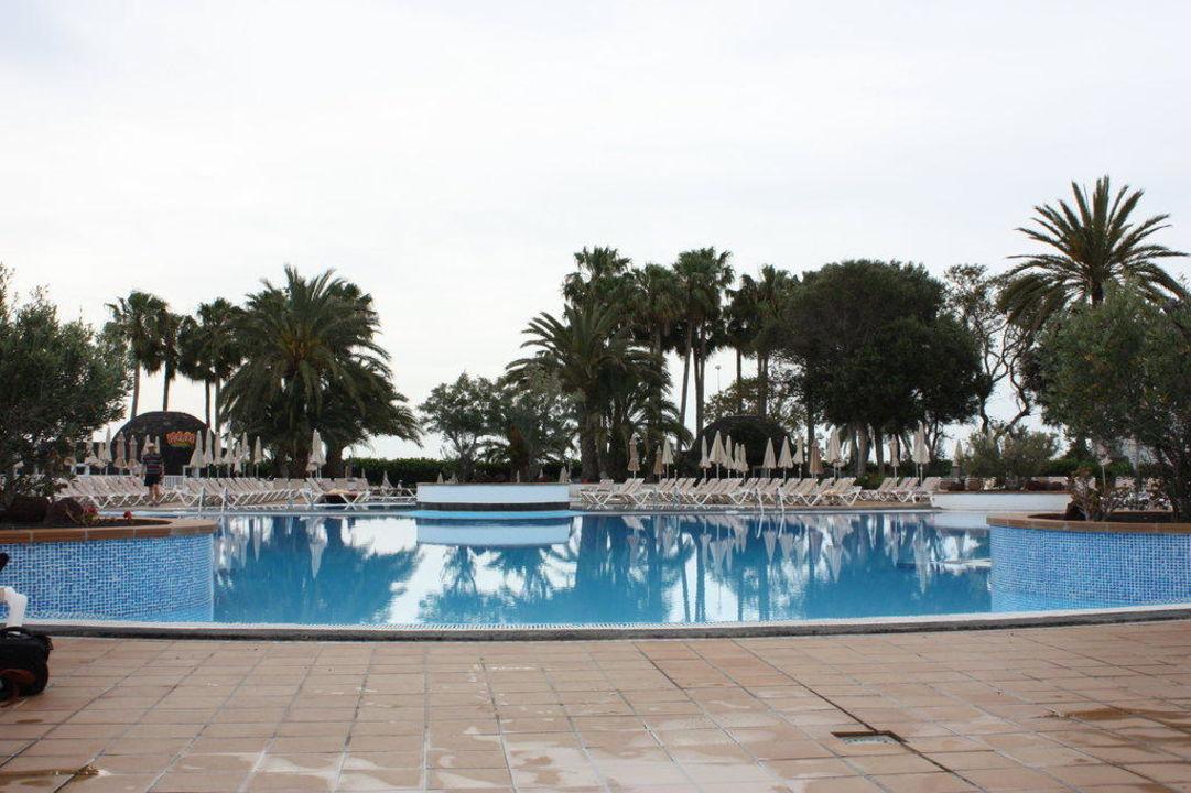 Beheizte Pools Hotel Riu Paraiso Lanzarote Resort