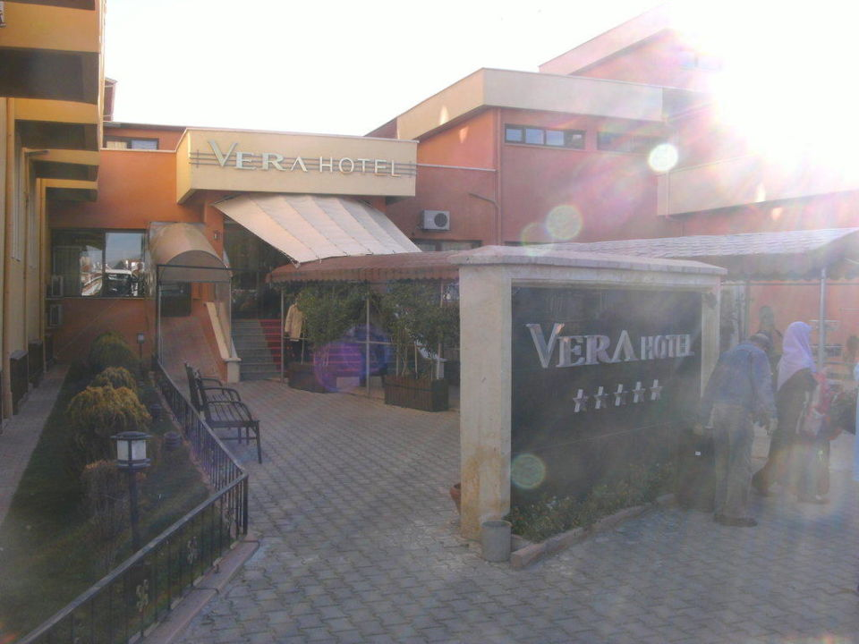 Eingang Hotel Vera Kaymakli
