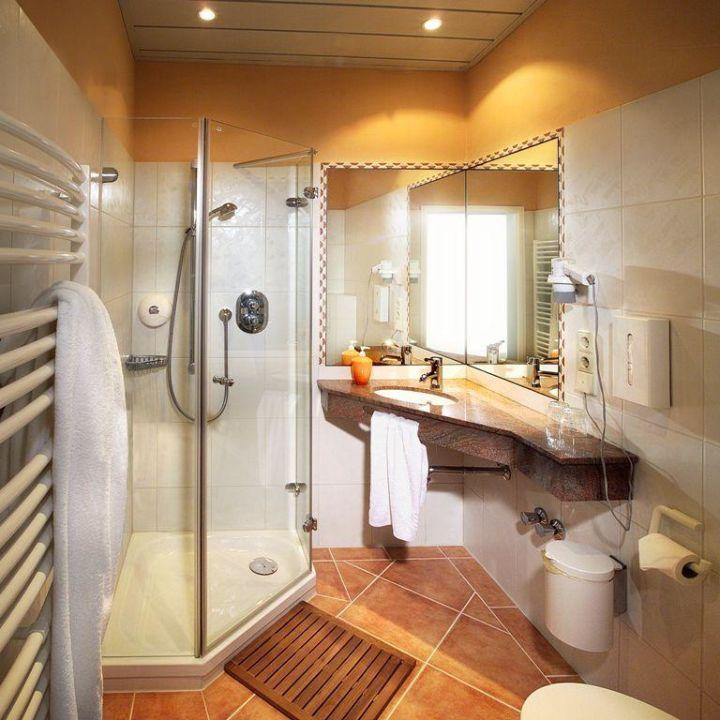 Beispiel Badezimmer Landidyll Wilminks Parkhotel