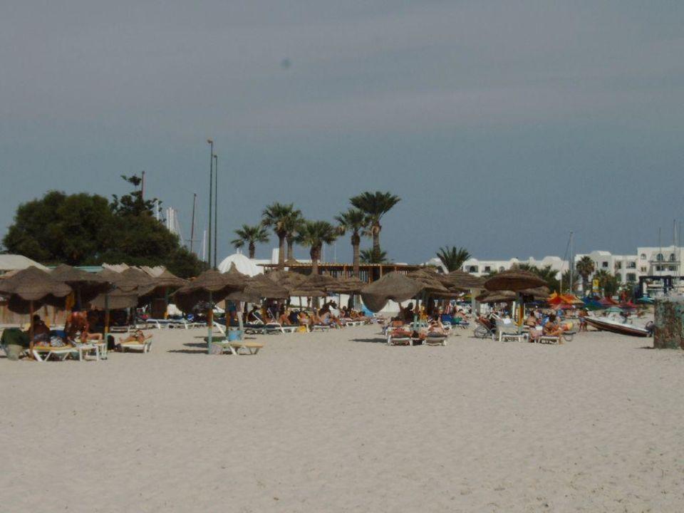 Strandaufnahme des Houria Palace Hotel Houria Palace