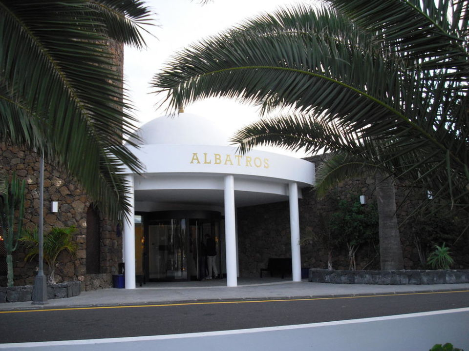 Eingangsbereich allsun Hotel Albatros