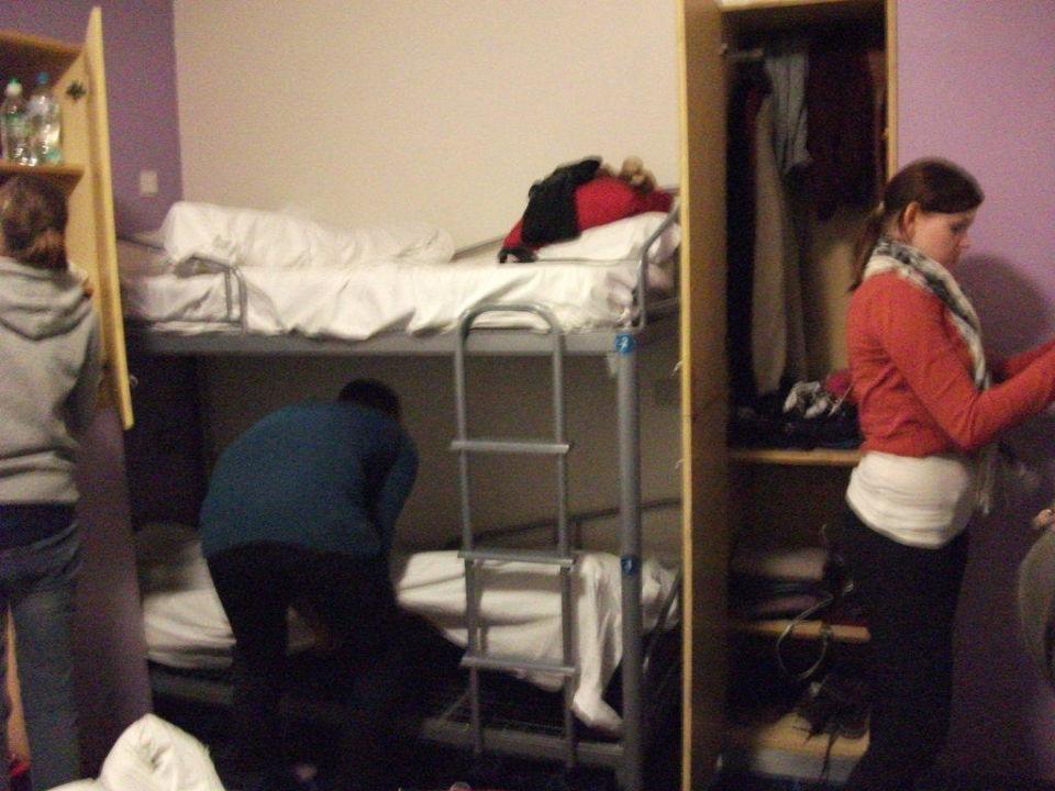Aufteilung 6 Bett Zimmer Safestay Edinburgh Edinburgh