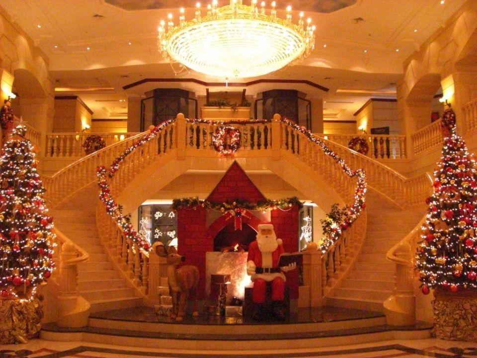 Lobby Zu Weihnachten Carlton Palace Hotel Dubai Holidaycheck