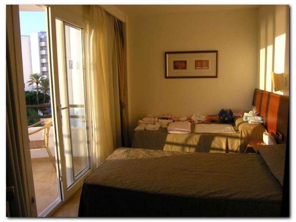 Mallorca Hotel Appartement  Schlafzimmer