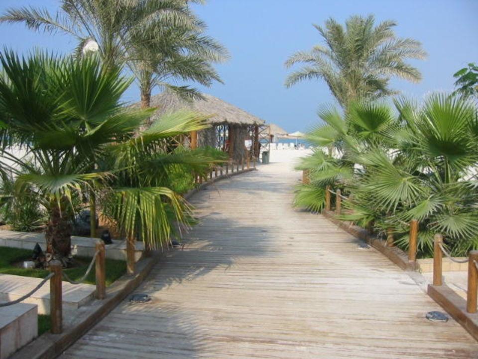 Weg zum Strand Hilton Ras Al Khaimah Resort & Spa
