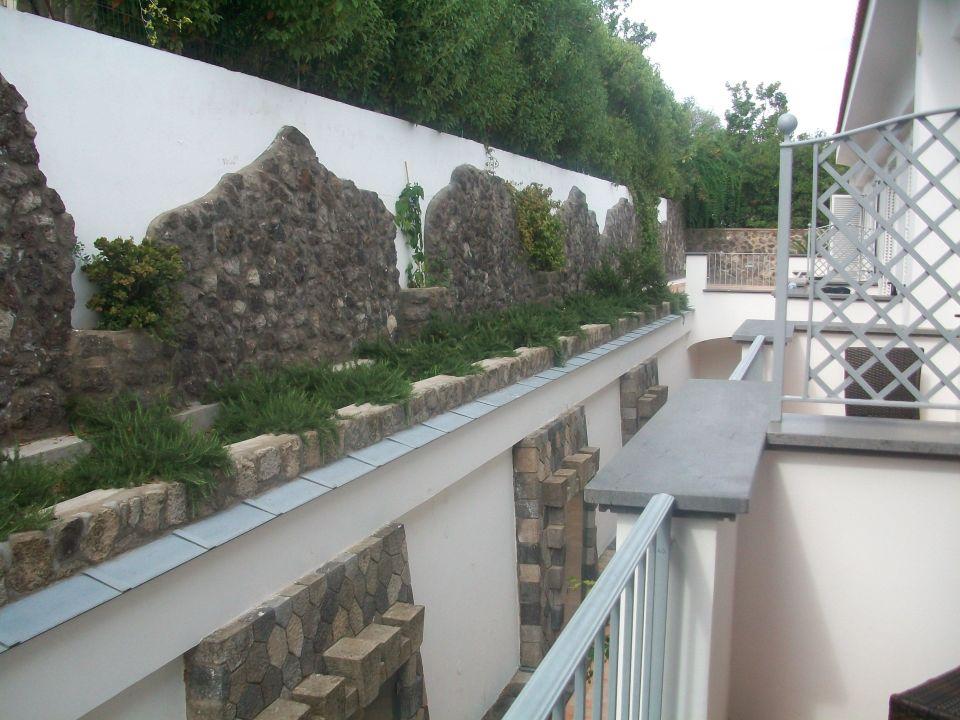 Blick vom Balkon Grifo Hotel De Charme