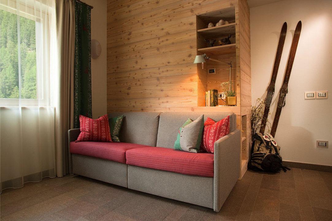 Suite Apartment, soggiorno con divano letto\