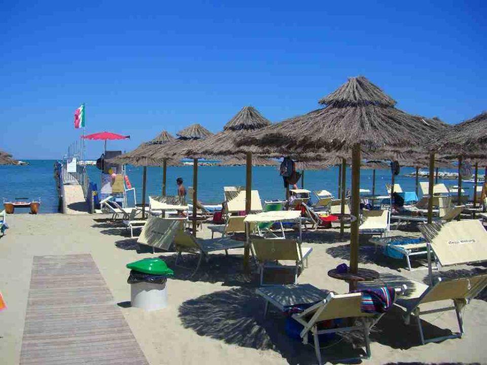 Strand von valverde di cesenatico hotel cavour gatteo a - Bagno romagna cesenatico ...