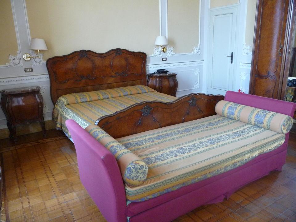 Zimmereinrichtung Hotel Villa Tina