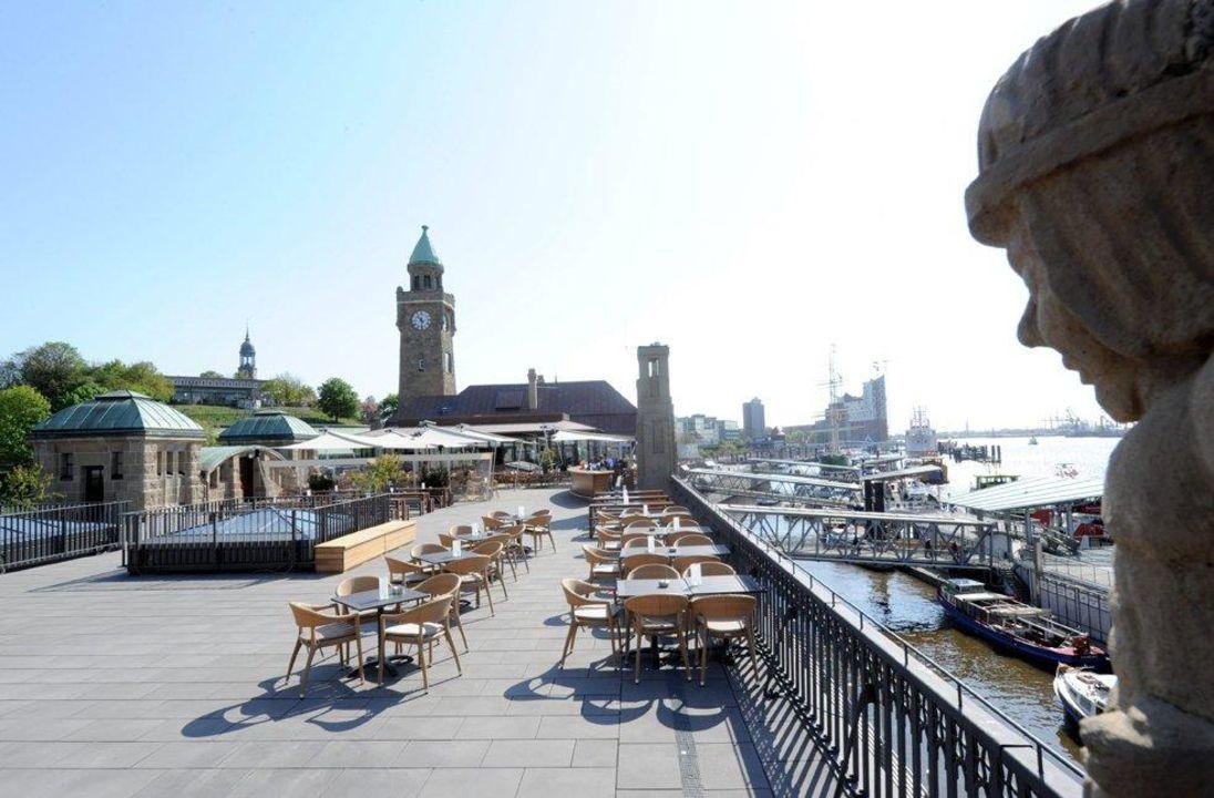 Terrasse Grand Elysée Hamburg