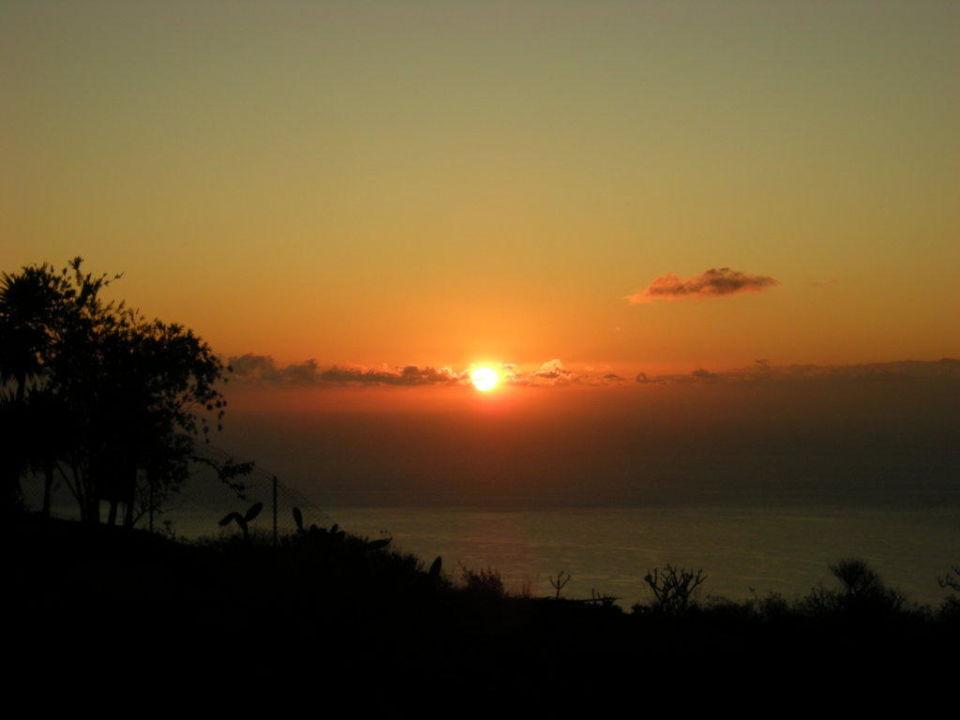 Sonnenaufgang Finca La Paz