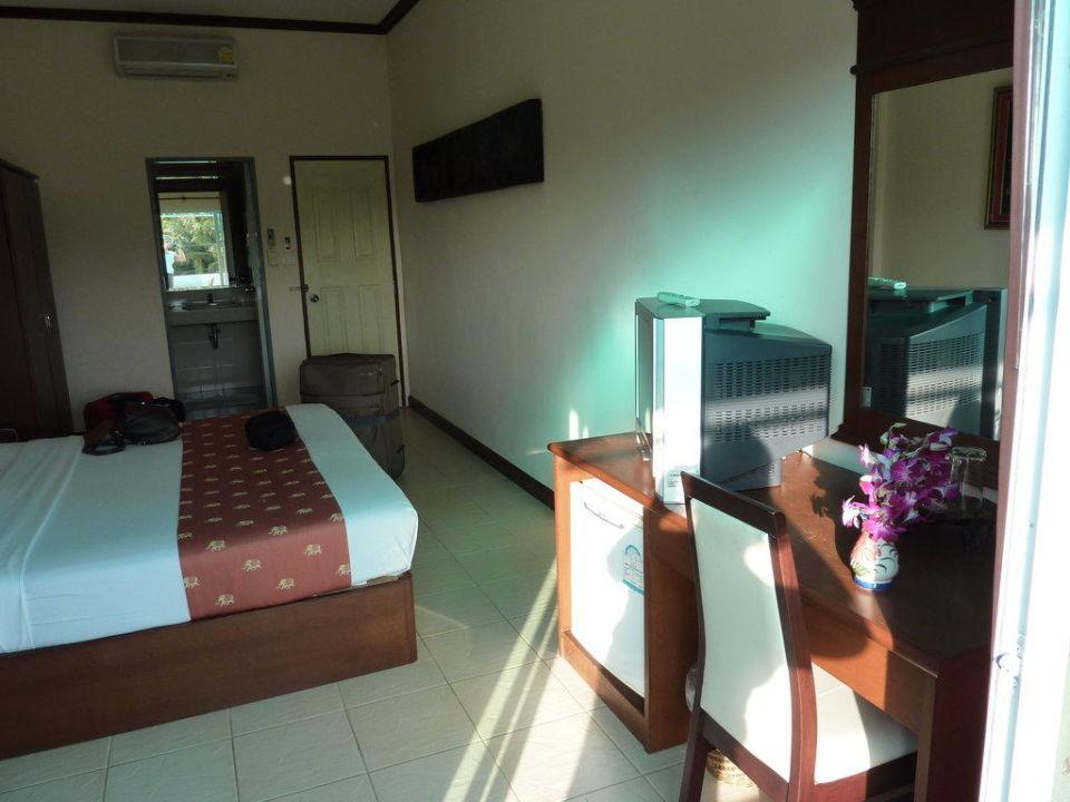 Zimmer vom Balkon aus Hotel Southern Fried Rice