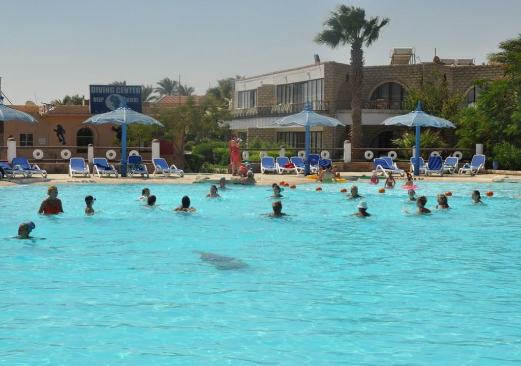 Aqua aerobik Aladdin Beach Resort