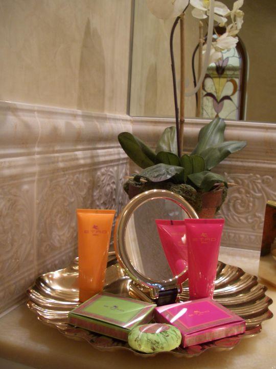 Badezimmer Deko Hotel Rossl Parcines Partschins Holidaycheck