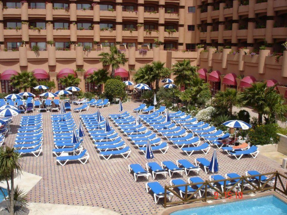 Aussenanlage Almuñecar Playa Spa Hotel
