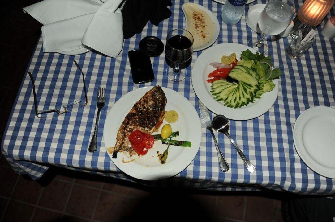 Fein zubereitete 4 Sterne Essen zum Dinner Tia Heights Makadi Bay