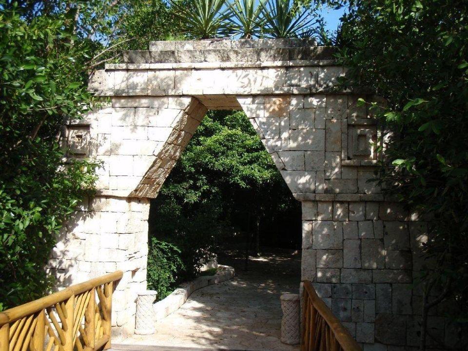 Weg vom Strand Catalonia Royal Tulum - Adults only