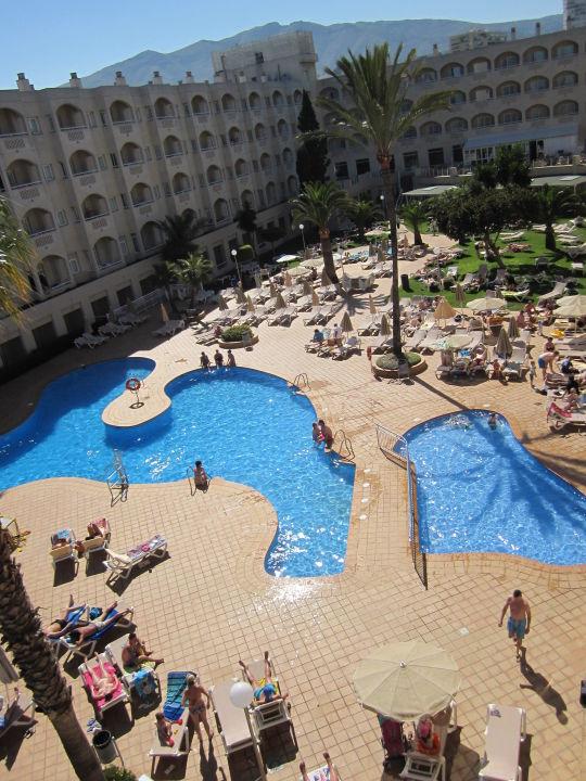 Poolanlage Hotel Riu Costa Lago (Vorgänger-Hotel – existiert nicht mehr)