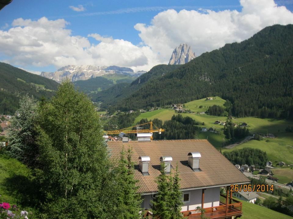 Ausblick vom Zimmer aus Hotel Talblick