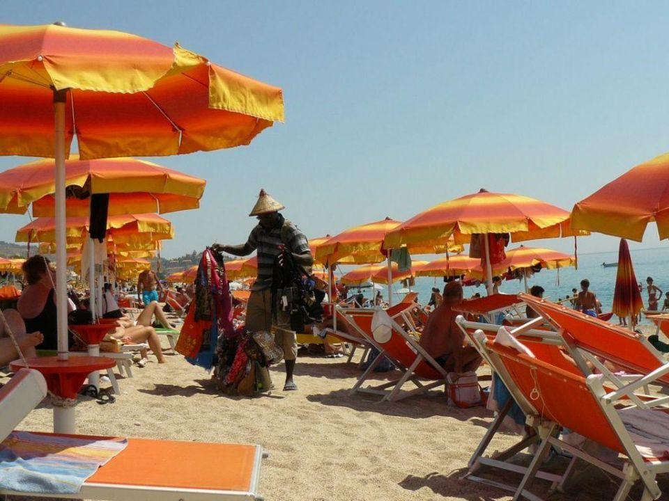 Plaża hotelowa 5 Hotel Mirabeau Park