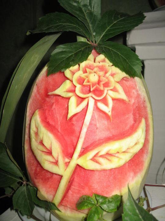 Melonen-Deko Larissa Stone Palace Resort