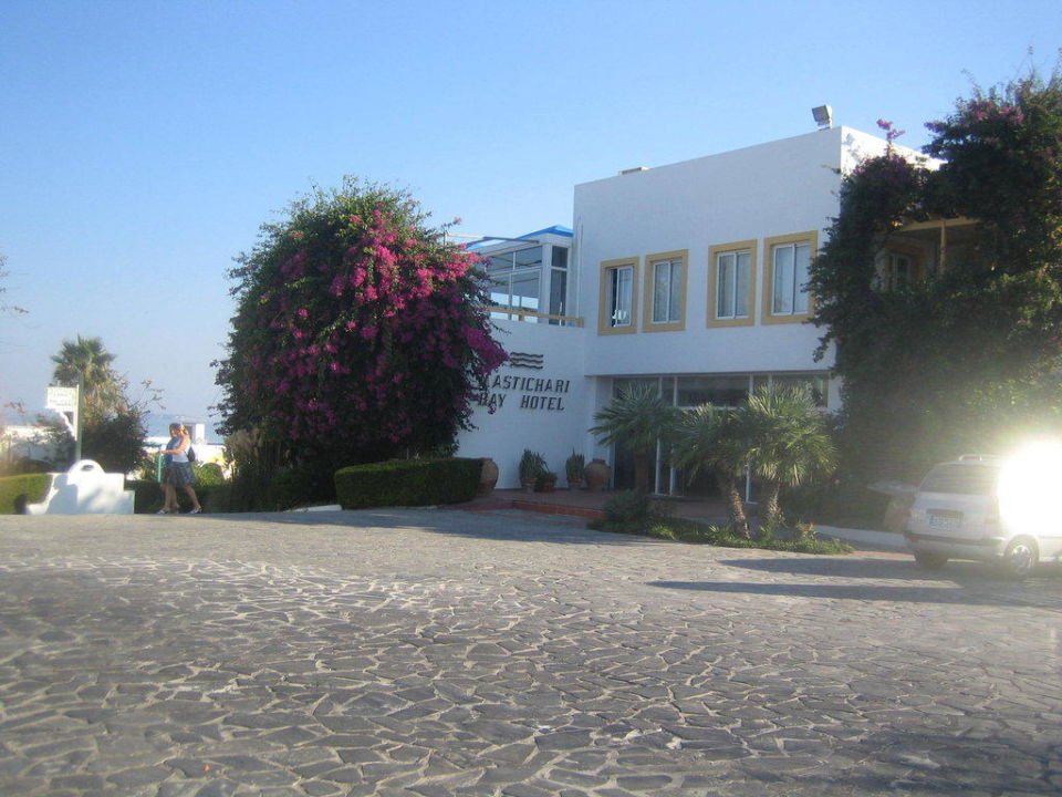 Eingang Mastichari Bay Hotel Mastichari Bay