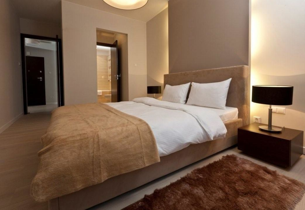 Sypialnia Z Lazienka I Garderoba Apartments Platinum Residence