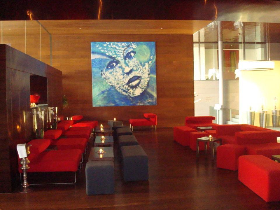 Bar beim Eingang Hotel Seeburg Swiss Quality