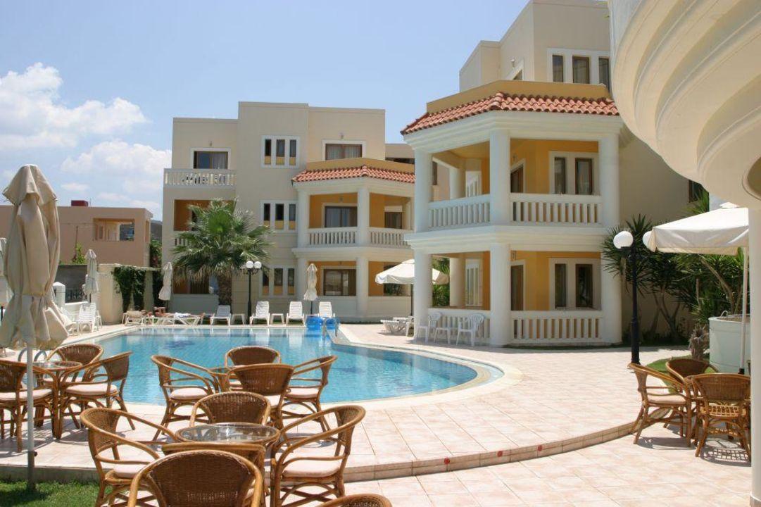 Hotel von vorne Hotel Stavroula Palace