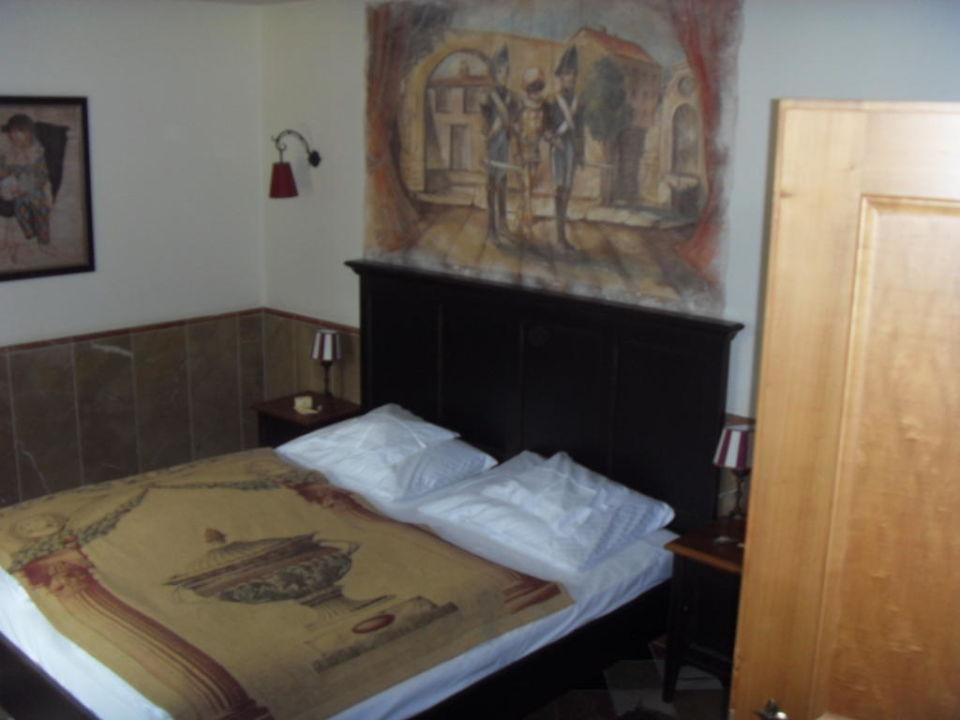 Schön Eingerichtetes Schlafzimmer Hotel Colosseo Europa Park Rust