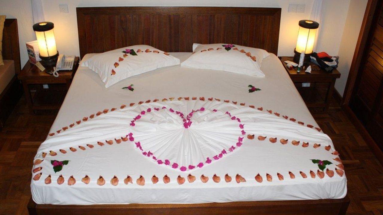 Genialer Zimmerservice Hotel Reethi Beach Resort