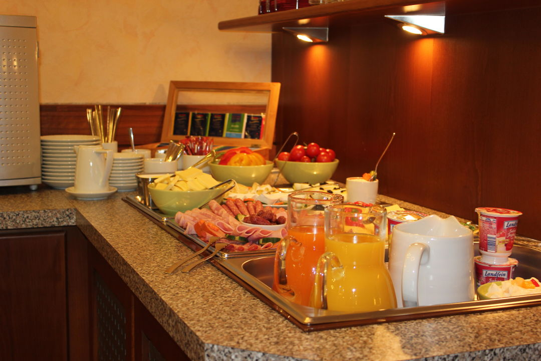 Frühstück City Hotel Schönleber