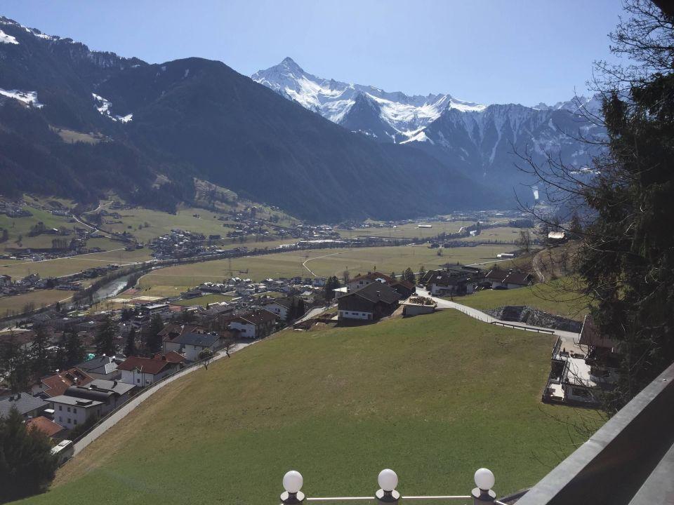 Blick vom Balkon Hotel Schwendberger Hof