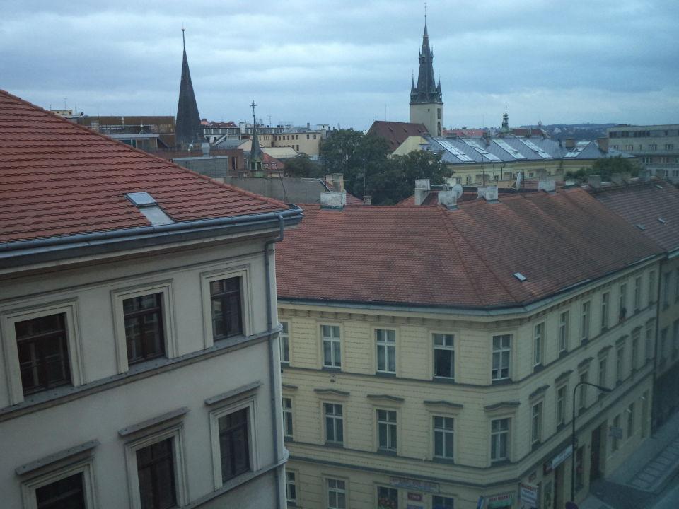 Вид из окна (7 этаж) Hotel Archibald City