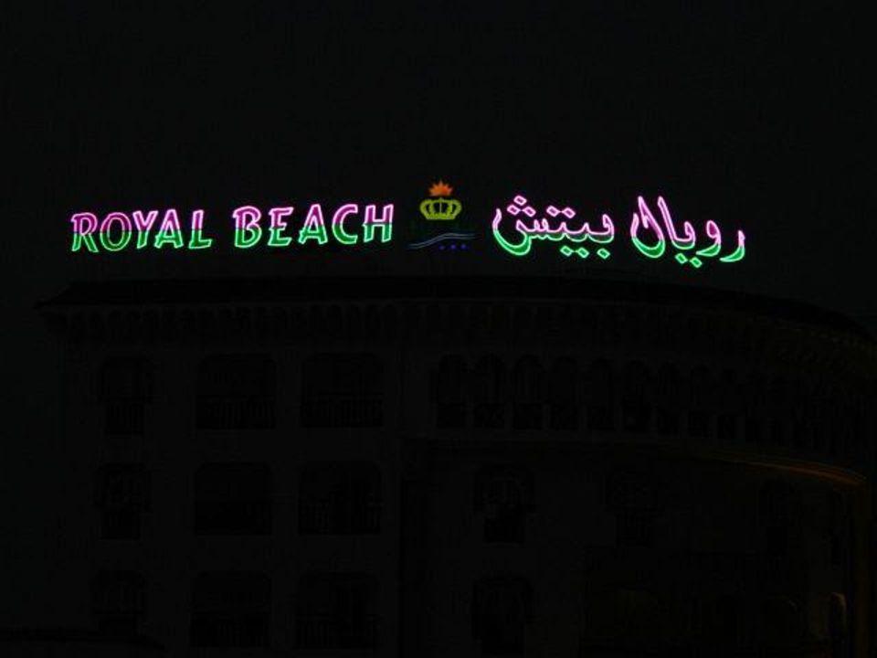 Royal Beach bei Nacht Hotel Royal Beach