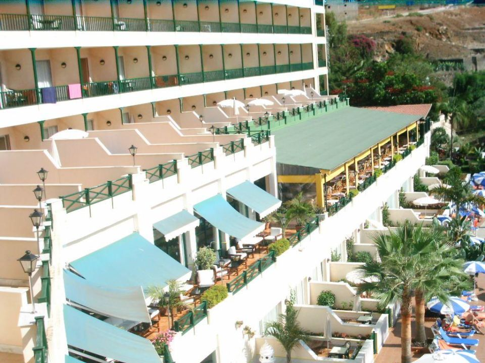 Blick vom Zimmer aus Blue Sea Costa Jardin & Spa