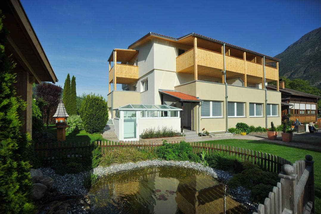 Außenansicht Haus Residence Obermühle zu Schanzen