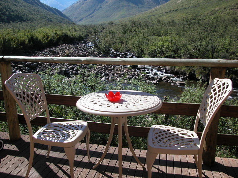 River Lodge Deck Maliba River Lodges