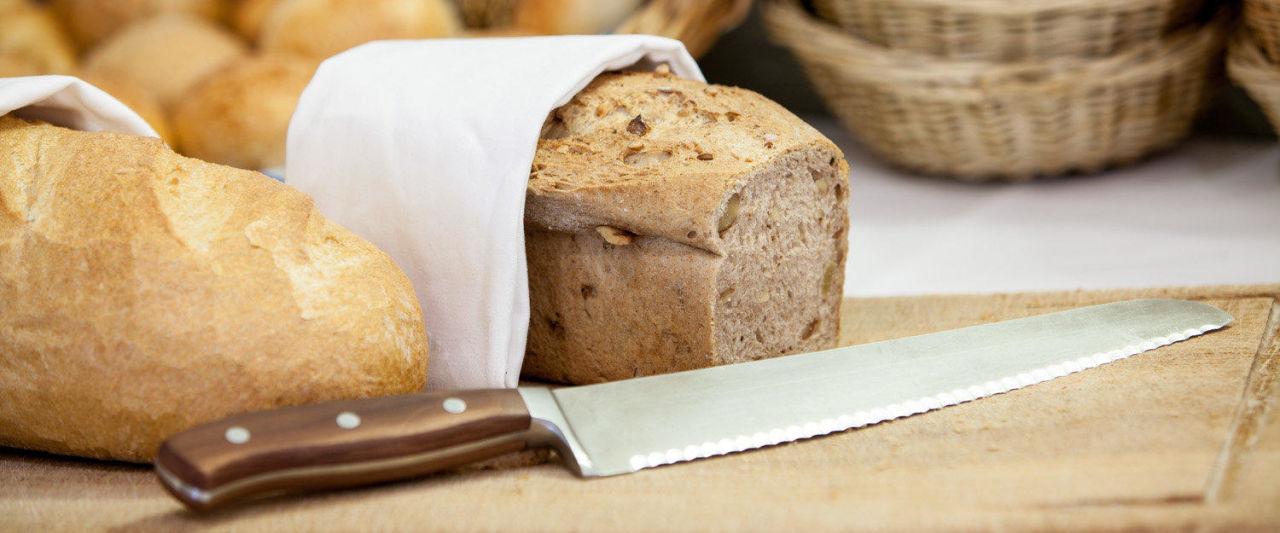 Frisches Brot vom Bäcker Hotel Parsenn