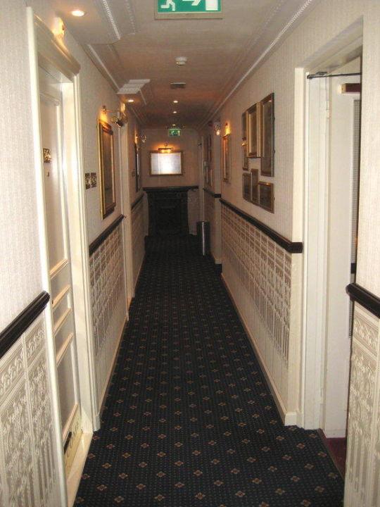 Hotelflur zu den Zimmern Hotel de Doelen