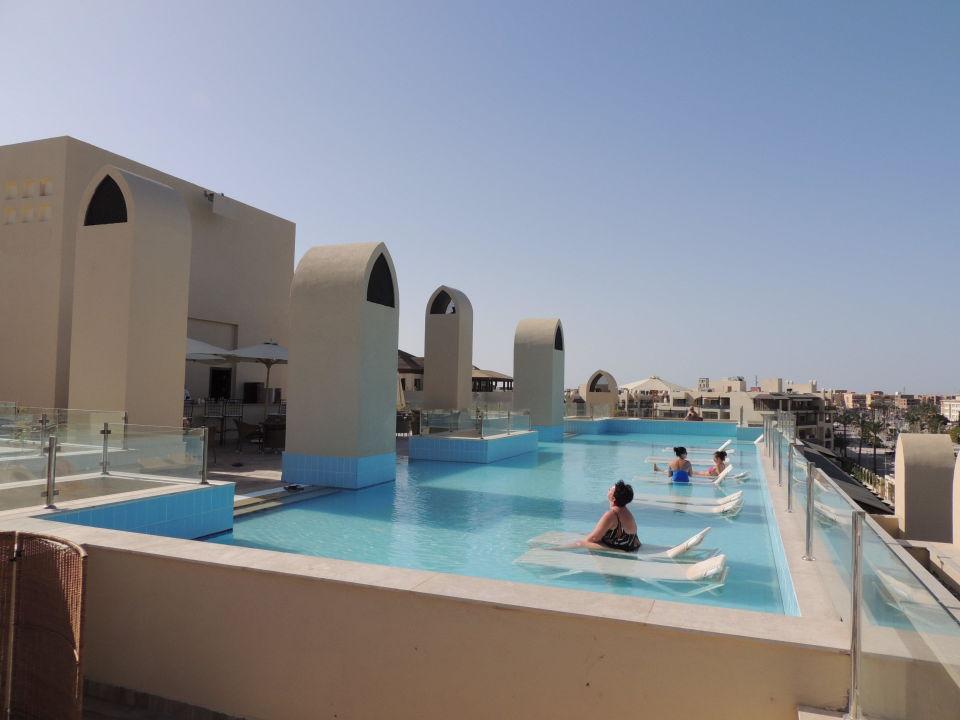 Dachpool Steigenberger Aqua Magic Hurghada Holidaycheck