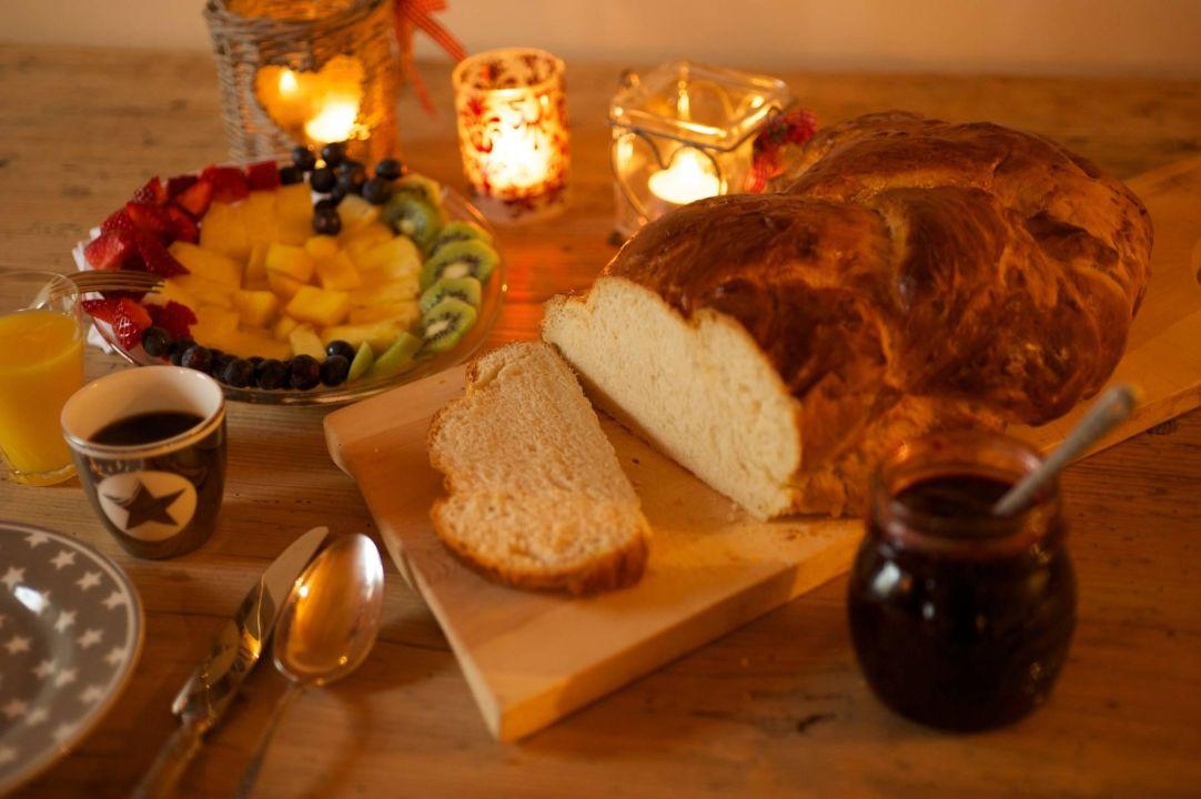 Fruehstuecksbuffet Chesa Staila Hotel - B&B