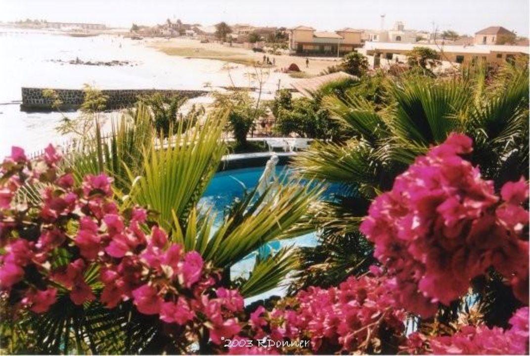 Hotel Odjo d'Aqua Blick auf Meer Odjo d'Água