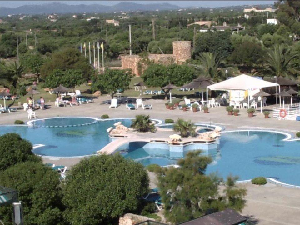Der Pool vom Hotel.von M.Kurowski allsun Hotel Mariant Park