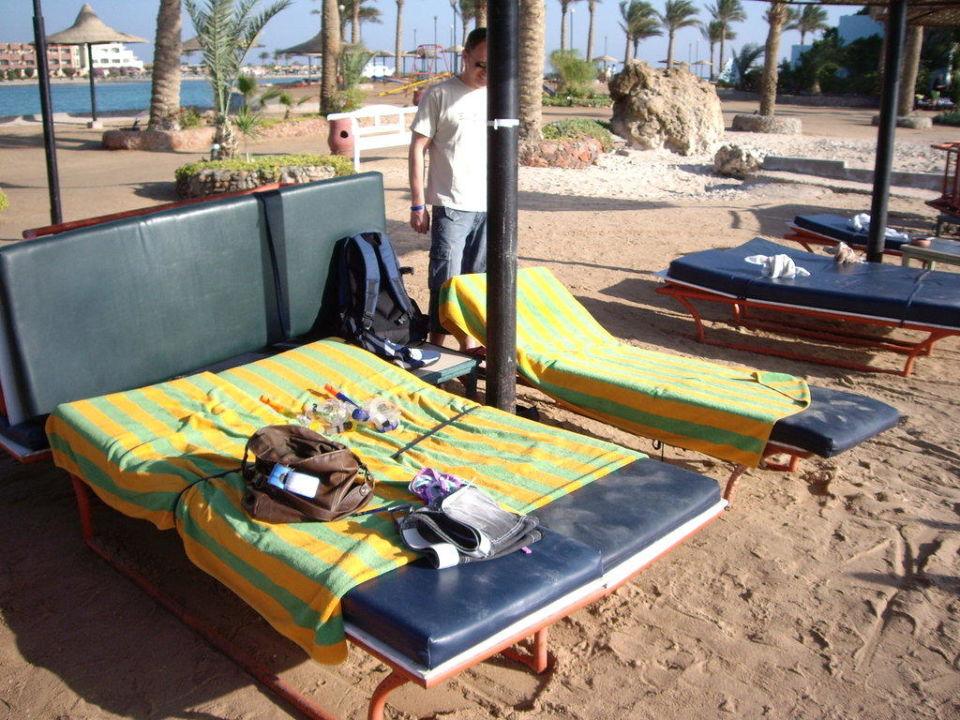Liegen am Strand Bel Air Azur Resort - Adults only