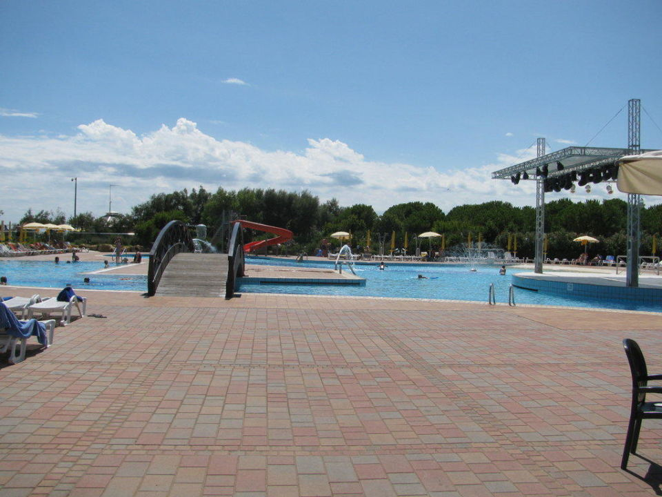 Sehr sauber Camping Jesolo International