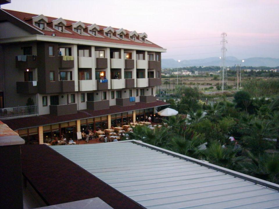 Sicht von unserem Balkon PrimaSol Hane Family Resort