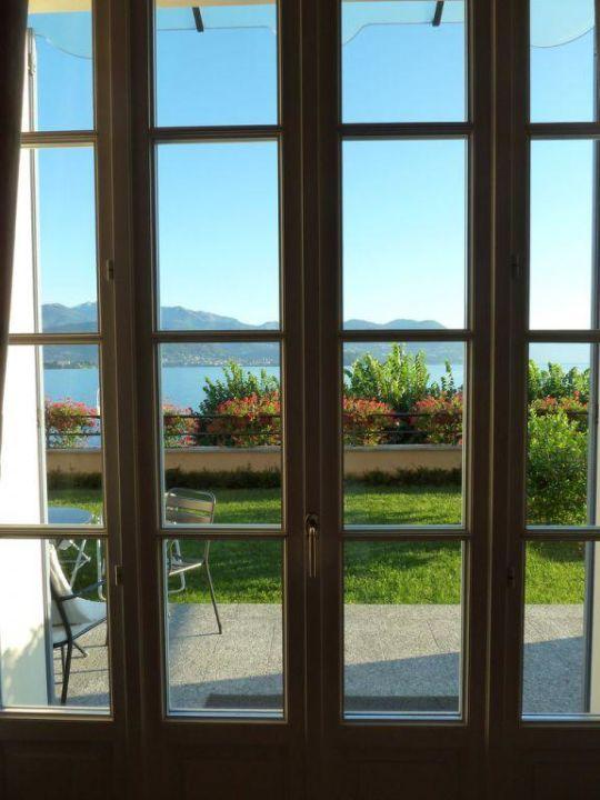 Blick aus dem Schlafzimmer Hotel La Luna Nel Porto
